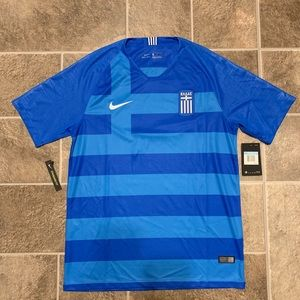 Nike Greece Stadium 2018 Away Soccer Jersey